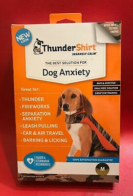 ThunderShirt Classic Dog Anxiety Jacket Medium Patented New