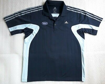 ADIDAS Navy Blue Golf - Climalite  Sport Polo Shirts Men's SIZE Size L