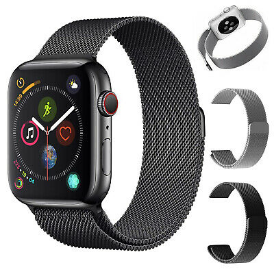 Stainless Steel Band Milanese Magnetic For Apple Watch 5 4 3 2 1 38/40mm 42/44mm