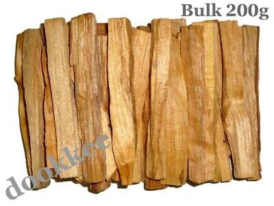 PALO SANTO Holy Wood Incense Sticks Smudge Sticks (PERU) – BULK 200 grams