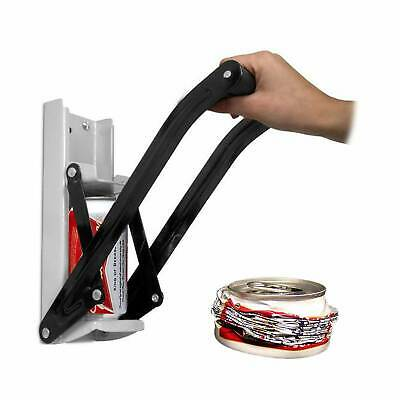 16Oz 500Ml Large Beer Tin Can Crusher Wall Mounted Recycling Tool Bottle Opener