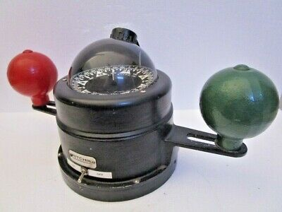 RITCHIE Vintage Marine BINNACLE Compass - Very Accurate - Made in USA (269)