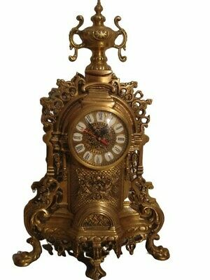 EXTRA LARGE - ANTIQUE Style Brass TOWER Clock - Heavy - Best Collection (1022)