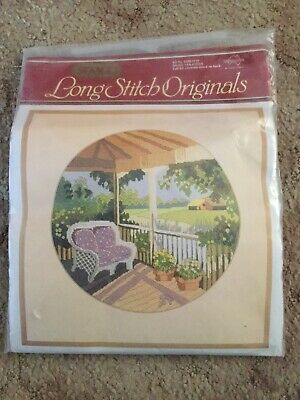 Shady Verandah Semco Originals Long Stitch Kit Not Started