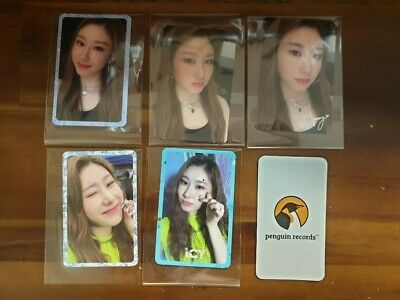 Itzy - It'z Icy Chaeryeong Photo Card 5Ea 1Set