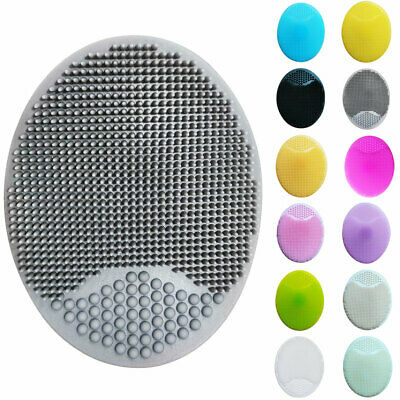 1/2PCS Facial Cleaning Brush Silicone Face Scrubber Facial Cleansing Brush
