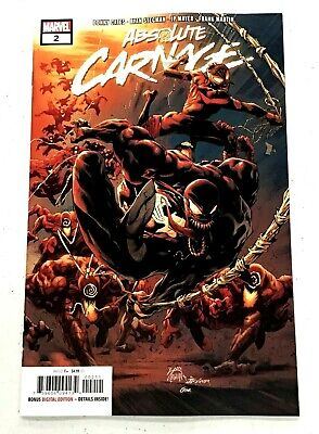 ABSOLUTE CARNAGE #2 MARVEL comics NM 2019 Donny Cates Ryan Stegman 🔥