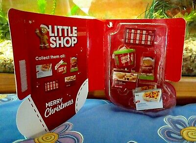 Coles Little Shop Mini Collectable Case + 5 Minis - Christmas Edition 2018 - NEW
