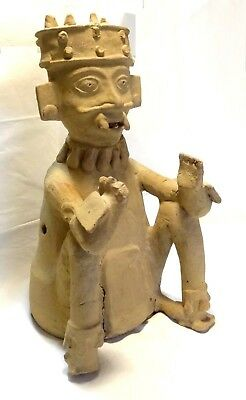 Very Large Figure Veracruz - Pre-columbian 500 ad - Ancient Remojadas Figure