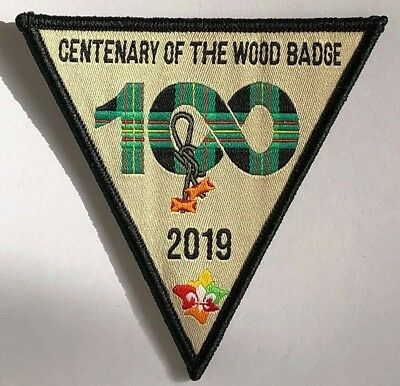 100 YEARS of the WOOD BADGE, 2019, International Scout Leader Training Award