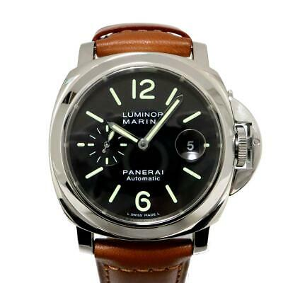 more photos 2c85a 527e1 PANERAI LUMINOR MARINA Automatic Ref. PAM 00119 Date Blue ...