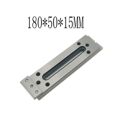 1X CNC Wire EDM Fixture Board Stainless Jig Tool For Clamp and Level 180x50x15mm