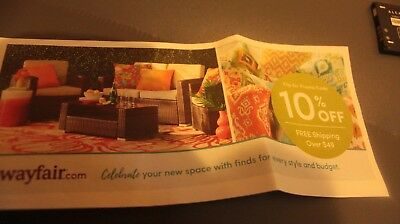 WAYFAIR 10% Entire First ORDER EXP 10/31 Fast same day delivery-see description