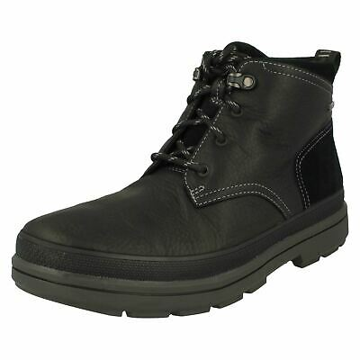 MENS CLARKS GORE TEX Casual Boots Rushway Mid EUR 126,14
