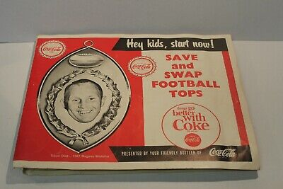 C1968 Sanfl Coca-Cola Caps Football Album Sturt, Port, North Adelaide Etc.