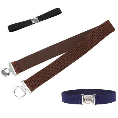 Chaud Femme Fille Coupe Skinny Ceinture Extensible Boucle pour Robe Jupe