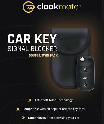 2X Car Key RFID Blocker Signal Block Keyless Entry Blocker