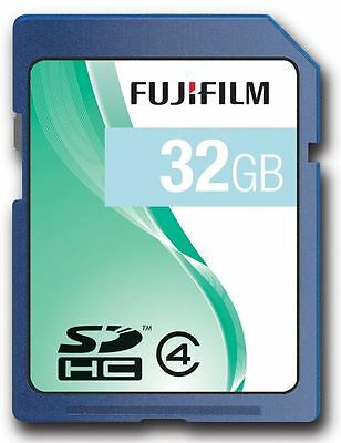 Fuji 32GB SDHC Class 4 Memory Card for FujiFilm FinePix F47FD & S4080