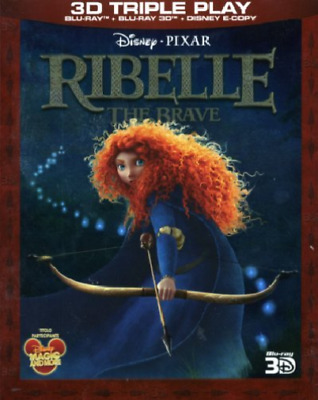 Movie-Ribelle - The Brave (2D+3.D+E-Copy) (UK IMPORT) Blu-Ray NEW