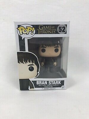 2017 Funko Pop HBO Game of Thrones Bran Stark #52 Collectible Vinyl Figure