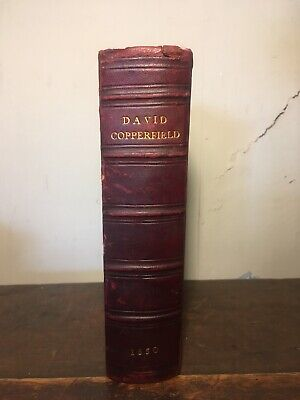 Charles Dickens - David Copperfield - Fine Binding - First Edition - Rare - 1850