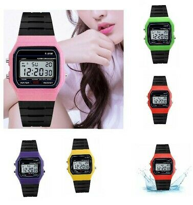 Casio Men's/womens F91W-1 Classic Digital Resin Strap Watch Nano Explosion-proof