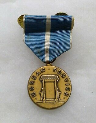 WWII U.S. Korean War Service Medal