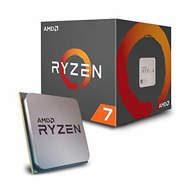 AMD Ryzen 7 2700X Processor with Wraith Prism LED Cooler - YD270XBGAFBOX, New