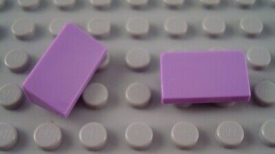 LEGO New Lot of 4 Lavender 2x1x2 Friends Girls Disney Slope Pieces