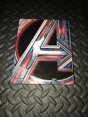 Avengers Age Of Ultron Best Buy Exclusive Assembled 4K Ultra Hd Bluray Steelbook