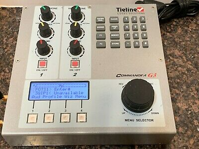 Tieline Commander G3 IP/POTS/USB/Cellular Broadcast Audio Codec