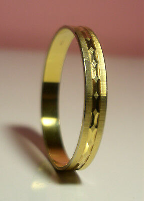 Monet Gold Plated Bangle Bracelet Beautiful Design 3 inches Diameter Nice Cond.