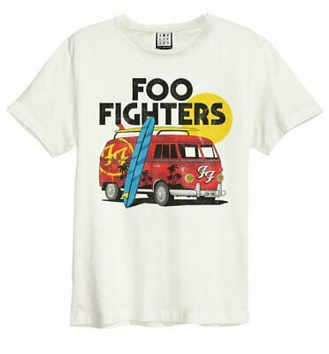 Official Off White Foo Fighters Camper Van T-Shirt from Amplified