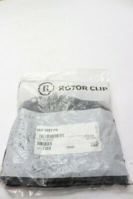 Pack of 1000 - Rotor Clip SHF-50ST-PA External SHF Retaining Ring
