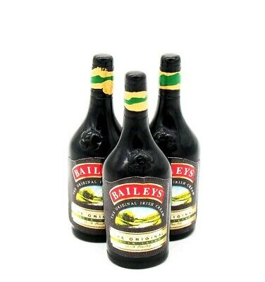 Doll House Accessories 1:12th Miniature - 1 Bottle of Baileys