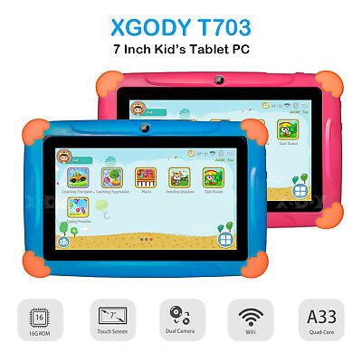 XGODY 7 Inch Tablet Pc 3G GSM Quadcore Android 6.0 Unlocked 16GB Rom WiFi GPS HD