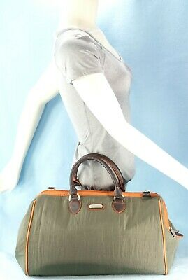 Baggallini Olive Green Travel Carry On Bag Gym Satchel Tote Weekender XL $130EXC