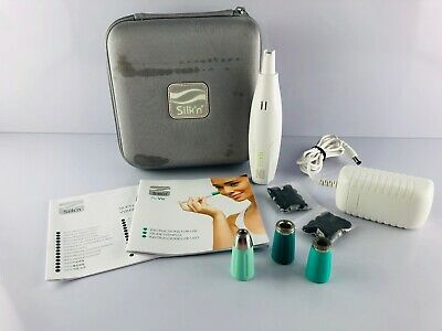 Silk'N ReVit Microdermabrasion Device Complete w/ 3 Tips and Filters Microderm
