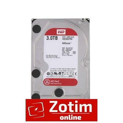 "WD 3TB, WD30EFRX, Red 3.5"" IntelliPower Nas HDD, Sata 6Gb/s, 64MB Cache, 5400RP"