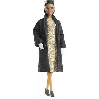 Rosa Parks Barbie Doll Inspiring Women Collection 2019 Mattel CONFIRMED PREORDER