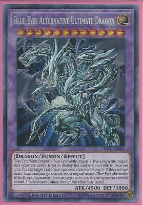 Yugioh TN19-EN001 Blue-Eyes Alternative Ultimate Dragon Prismatic Secret Rare NM