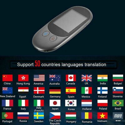Two-Way Real Time Multi-Language Translation Smart Voice Translator Portable
