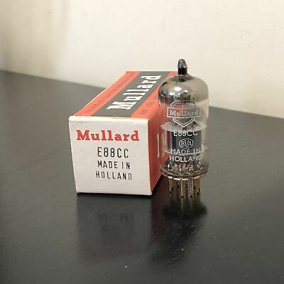 E88Cc Mullard Gold Pin Nos Boxed Valve/Tube