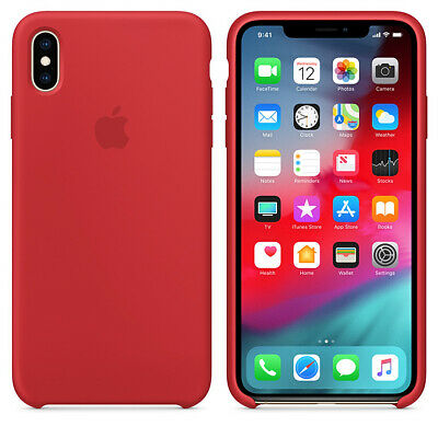 RED, GENUINE OFFICIAL ORIGINAL Apple Silicon Case iPhone XR RRP $39