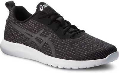 Asics Kanmei 2 Mens Black White Neutral Running Sneakers Shoes Size 1021A011.001
