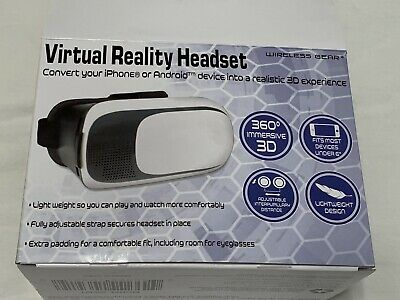 "virtual reality headset Use With iPhone or Android Devices Under 6"" (MiscB8.27)"