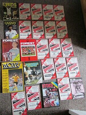 Great Collection of 25 Liverpool 1979-80 Season Programmes
