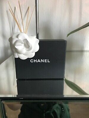 Chanel Empty  Box With Rose Black Small