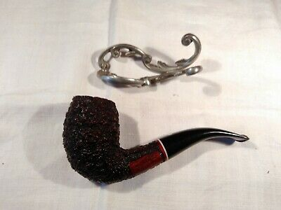 Estate Pipe Cavicchi Danish Bent Egg Chimney