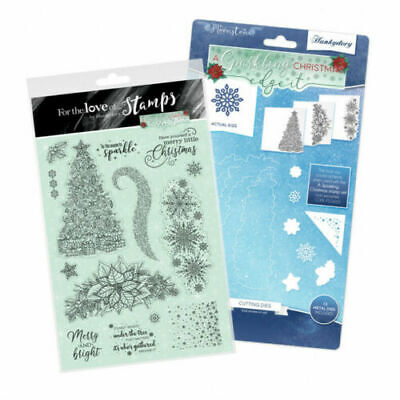 Hunkydory - Moonstone A SPARKLING CHRISTMAS - Edge it Stamp & Die Bundle